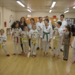 Karate grading March 2015